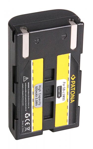 Acumulator Patona pentru Samsung SB-LSM80 D D351i D352i D453i D963i d965Wi SB-LSM80 VP 1