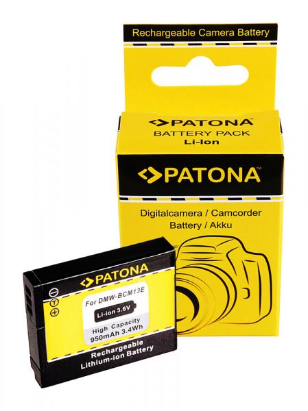 Acumulator Patona pentru Panasonic DMW-BCM13 Lumix DMCFT5 DMC-FT5 DMCTS5 DMC-TS5 DMCTZ40 0