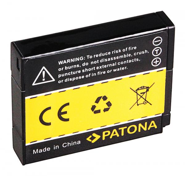 Acumulator Patona pentru Panasonic DMW-BCM13 Lumix DMCFT5 DMC-FT5 DMCTS5 DMC-TS5 DMCTZ40 1