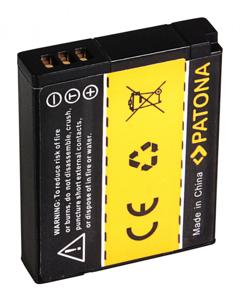 Acumulator Patona pentru Panasonic DMW-BCM13 Lumix DMCFT5 DMC-FT5 DMCTS5 DMC-TS5 DMCTZ40 2