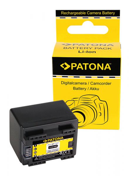 Acumulator Patona pentru Canon BP-727 Legria HF R36 HF306 HF38 HF406 HF48 HFM506 HFM52 0