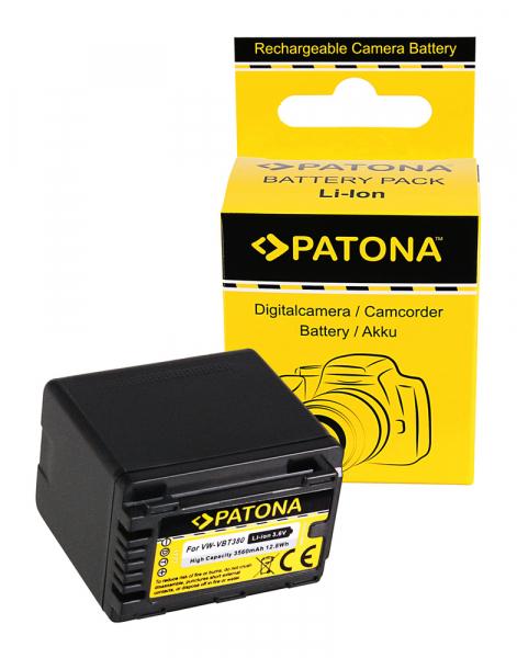 Acumulator Patona pentru Panasonic VW-VBT380 HC V110 V120 V160 V210 V250EB V270 V380 0
