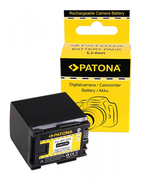 Acumulator Patona pentru Canon BP-820 HF HFG30 HF-G30 BP-820 Legria G10 G20 G25 HF G30 0