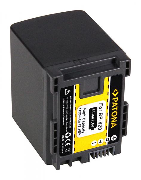 Acumulator Patona pentru Canon BP-820 HF HFG30 HF-G30 BP-820 Legria G10 G20 G25 HF G30 2
