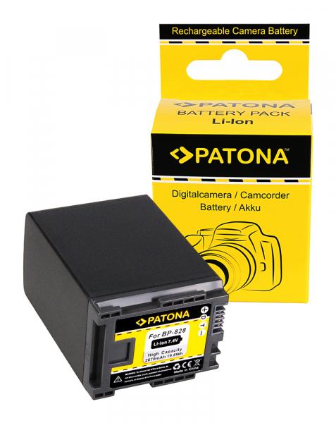Acumulator Patona pentru Canon BP-828 HF HFG30 HF-G30 BP-828 Legria G10 G20 G25 HF G30 0