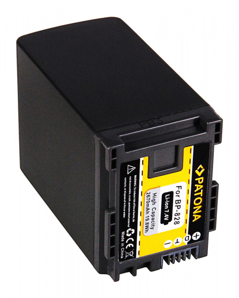 Acumulator Patona pentru Canon BP-828 HF HFG30 HF-G30 BP-828 Legria G10 G20 G25 HF G30 2