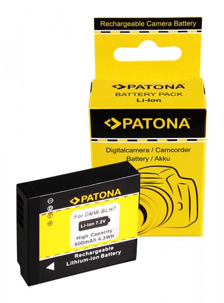 Acumulator patona pentru Panasonic DMW-BLH7 Lumix DMCGM1 DMC-GM1 0