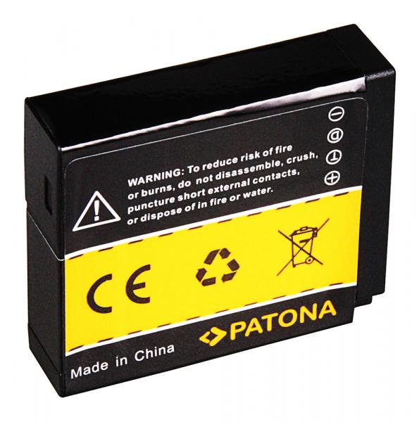 Acumulator patona pentru Panasonic DMW-BLH7 Lumix DMCGM1 DMC-GM1 1