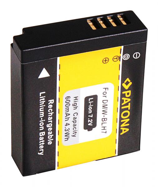 Acumulator patona pentru Panasonic DMW-BLH7 Lumix DMCGM1 DMC-GM1 2