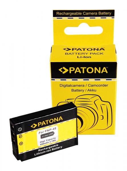Acumulator Patona pentru Fujifilm NP-48 QX1 0
