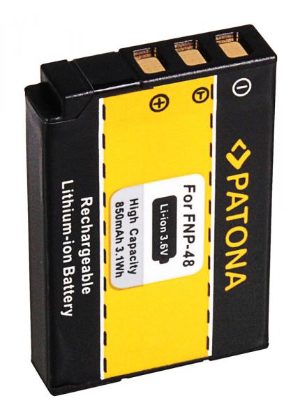 Acumulator Patona pentru Fujifilm NP-48 QX1 2