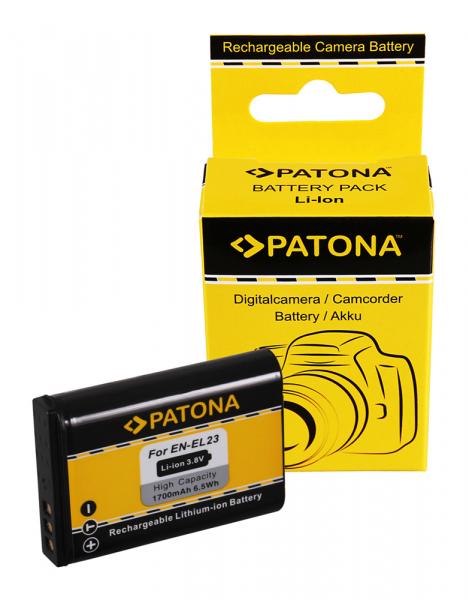 Acumulator Patona pentru Nikon EN-EL23 Coolpix p600 0