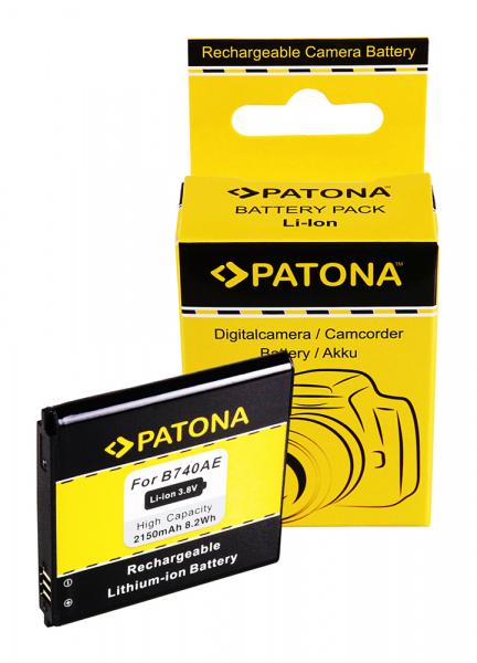 Acumulator Patona pentru Samsung B740E Galaxy NX mini NXF1 S4 Zoom S4 Zoom LTE SMC101 0