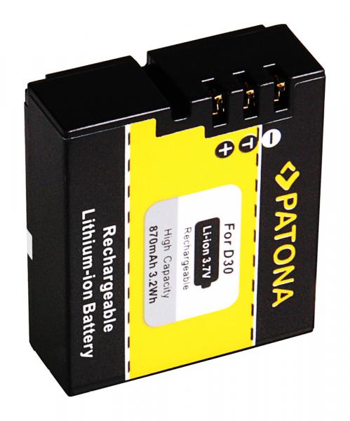 Acumulator Patona pentru AEE D30 870mAh Magicam SD18 SD19 SD20 SD21 SD22 SD23 2