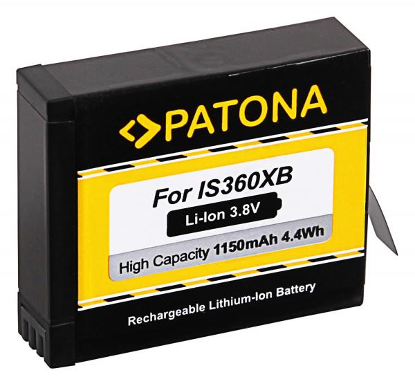 Acumulator Patona pentru Insta360 One X Action Cam 1