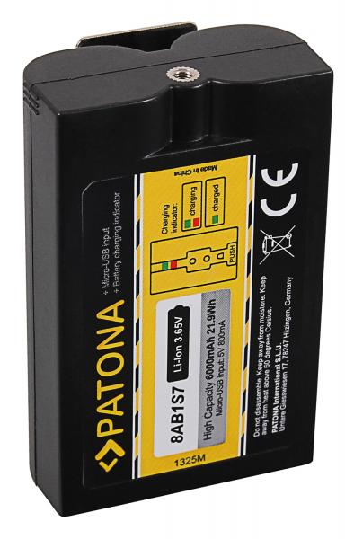 Acumulator Patona 8AB1S7 pentru Sonorizator Video Doorbell 2 și Ring Spotlight Cam Solar 2