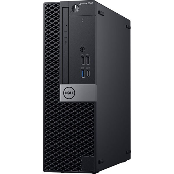 Sistem Desktop PC DELL OptiPlex 5060 SFF, Intel Core i5-8500 pana la 4.1GHz, 8GB, SSD 256GB, Intel® UHD Graphics 630, Windows 10 Pro 2