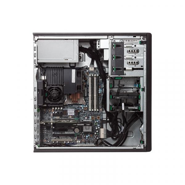 HP WORKSTATION Z420 Intel Xeon Quad Core E5-1603, 16GB ddr3 , 120 SSD NOU + 500Gb  NVIDIA Quadro K620 1