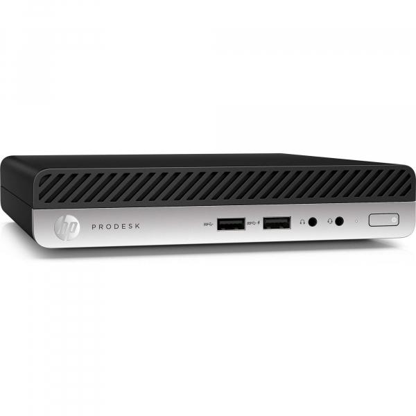 Mini sistem Desktop PC HP ProDesk 400 G4 DM, Intel® Core™ i5-8500T, 8 GB, 256 GB [0]