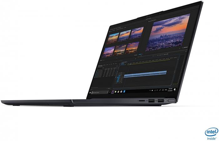 Ultrabook Lenovo 14'' Yoga Slim 7 14IIL05, UHD, Procesor Intel® Core™ i7-1065G7 (8M Cache, up to 3.90 GHz), 16GB DDR4X, 512GB SSD, Intel Iris Plus, Win 10 Home 1
