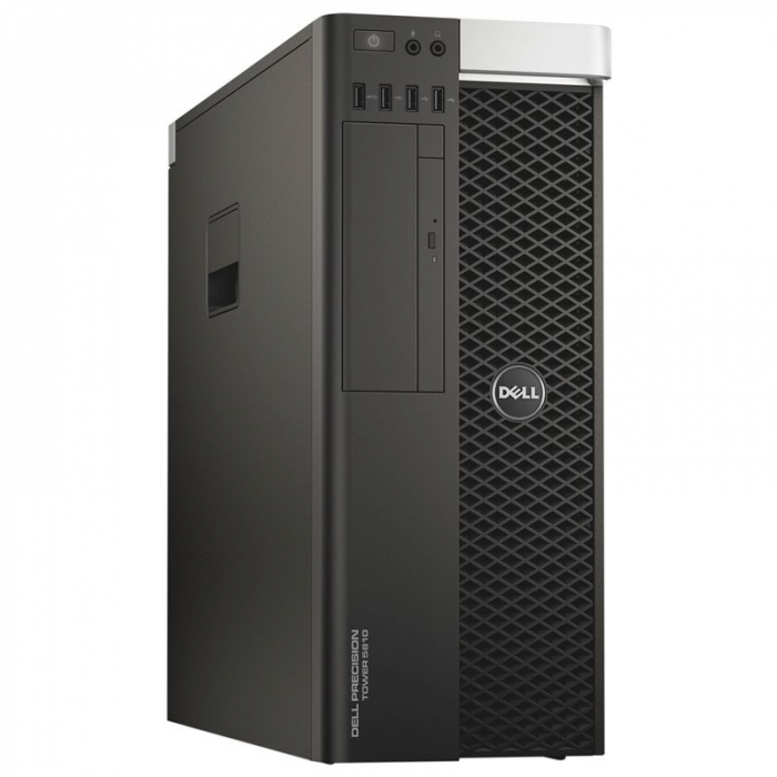 Workstation Refurbished DELL Precision T5810, Intel HEXA Core Xeon E5-1650 v3 3.50 GHz, 32GB DDR4 ECC, 512GB SSD, AMD FirePro W5100 4GB GDDR5 /128 bit, Win 10Pro [0]