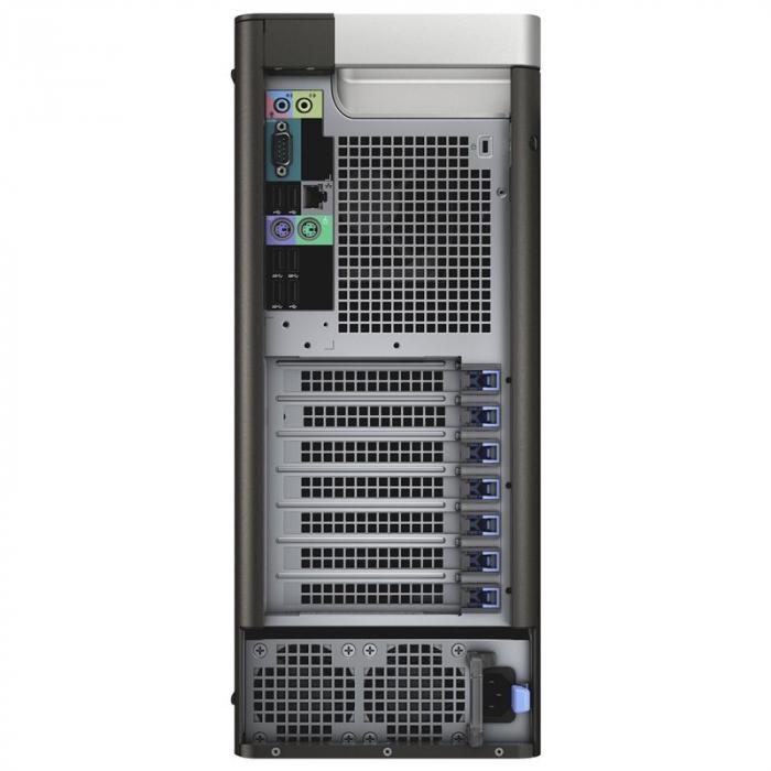 Workstation Refurbished DELL Precision T5810, Intel HEXA Core Xeon E5-1650 v3 3.50 GHz, 32GB DDR4 ECC, 512GB SSD, AMD FirePro W5100 4GB GDDR5 /128 bit, Win 10Pro [2]