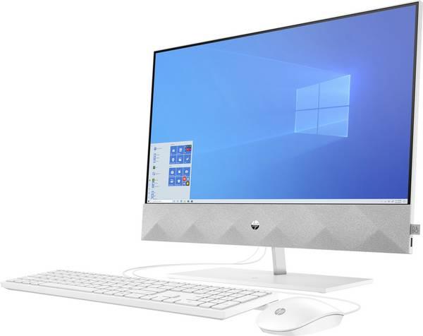 HP 24-k0013ng 60.5 cm (23.8 inch) All-in-one PC AMD Ryzen™ 5 4600H 8 GB 1024 GB 256 GB SSD AMD Radeon Windows® 10 Home 3