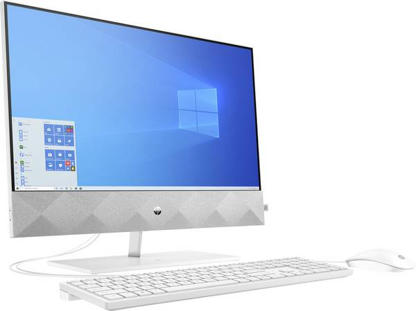 HP 27-dp0400ng 68.6 cm (27 inch) All-in-one PC AMD Ryzen™ 5 4500U 16 GB 512 GB SSD AMD Radeon Windows® 10 Home (171831) [1]