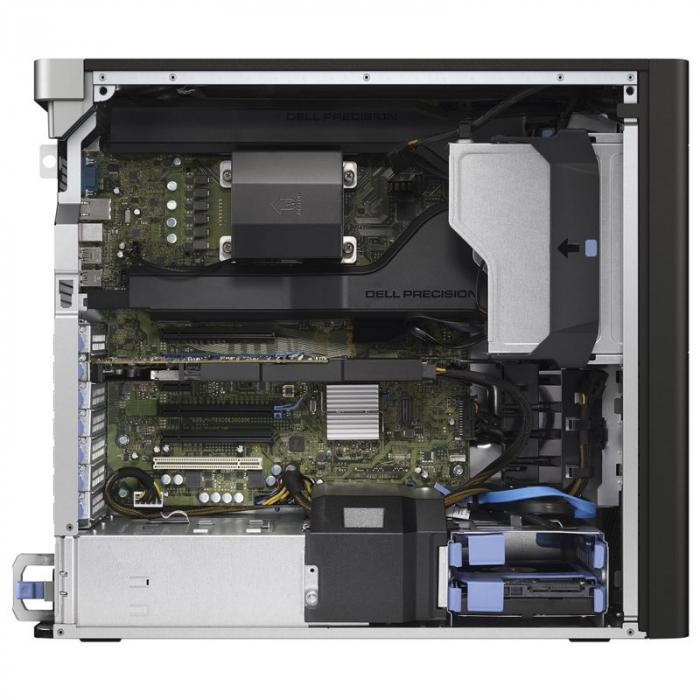 Workstation Refurbished DELL Precision T5810, Intel HEXA Core Xeon E5-1650 v3 3.50 GHz, 32GB DDR4 ECC, 512GB SSD, AMD FirePro W5100 4GB GDDR5 /128 bit, Win 10Pro [1]