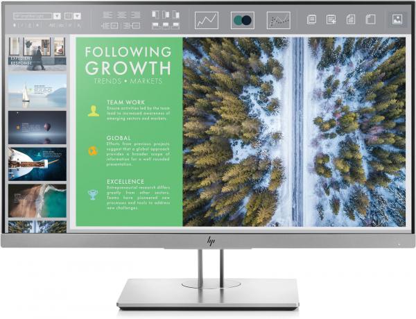 "Monitor LED IPS HP EliteDisplay E243 23.8"", Full HD, Display Port, Negru ( 152084 ) [0]"