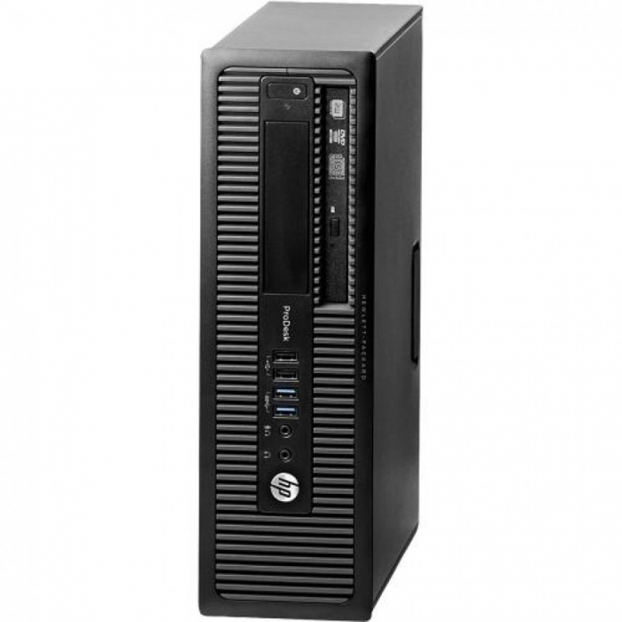 Calculatoare HP ProDesk 400 G1 SFF, Intel Core i3-4130, 4GB RAM, 500 HDD 0