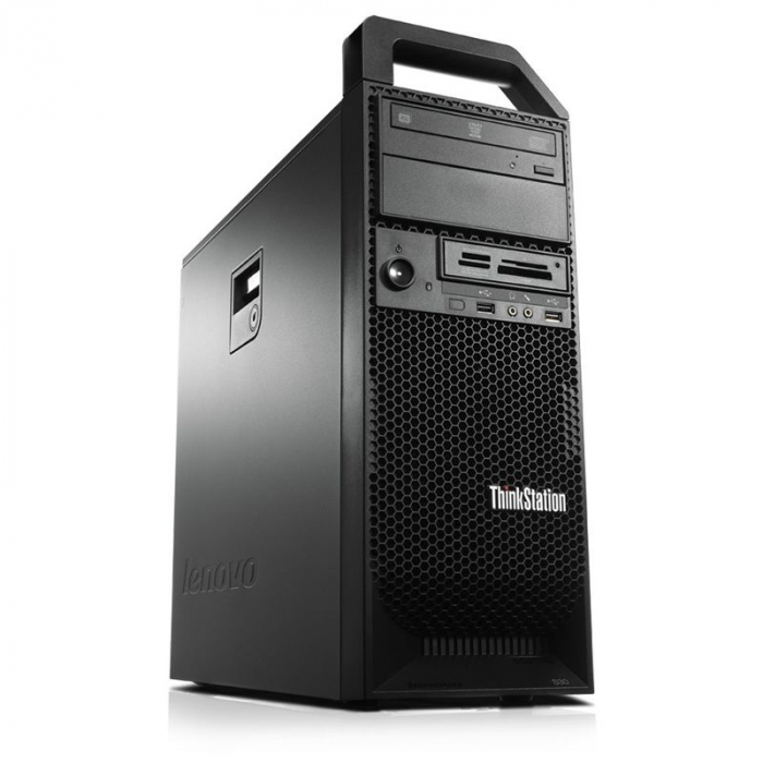 Workstation LENOVO ThinkStation S30 Intel Xeon 4-Cores E5-1620 3.80 GHz, 8 GB DDR3, 500 HDD 0