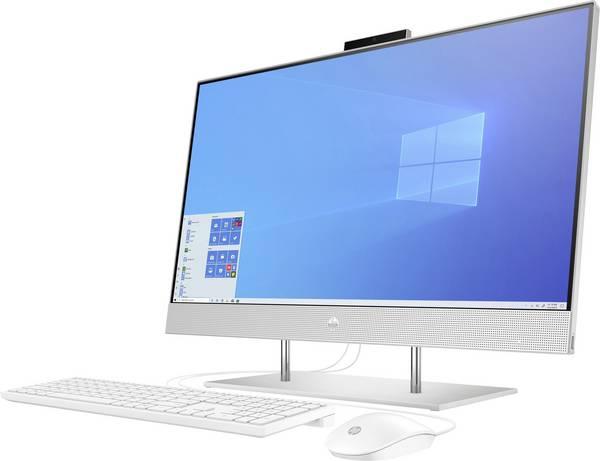 Sistem All-in-one PC HP 27-dp0001ng 27 inch AMD Ryzen ™ 3 4300U 8 GB 512 GB SSD AMD Radeon Vega 8 Graphics Windows 10 HOME 1