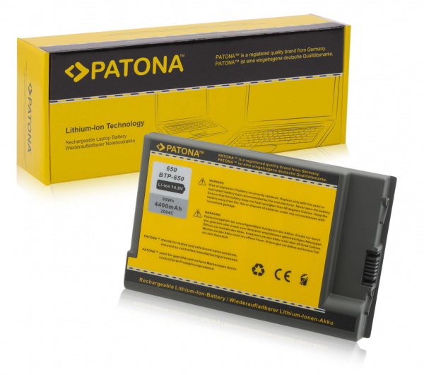 Acumulator Patona pentru Acer 650 Aspire 1440 1450 1451LCi 1451LMi 1452LC 0