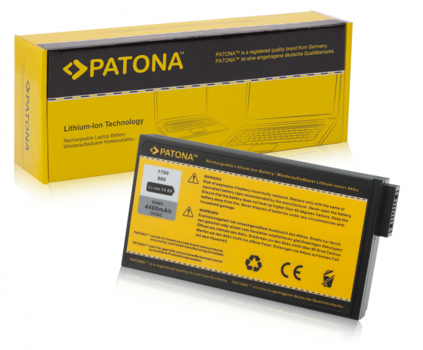 Acumulator Patona pentru HP Compaq Presario 1700 Compaq Evo N1000 N1000c 0