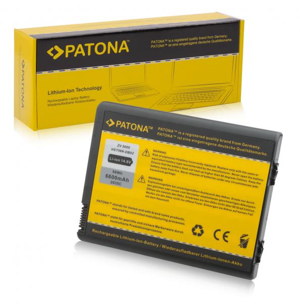 Acumulator Patona pentru HP ZV5000 Pavilion V5103AP V5187EA ZD8200 ZD8201AP 0