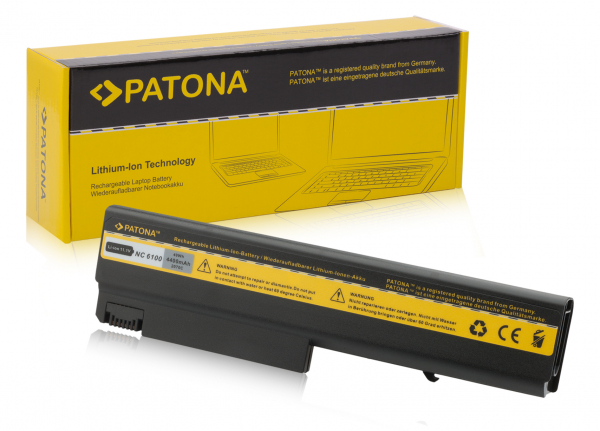Acumulator Patona pentru HP NC6100 Compaq 6310 6700 6110 / CT 6110CT 6510b 0