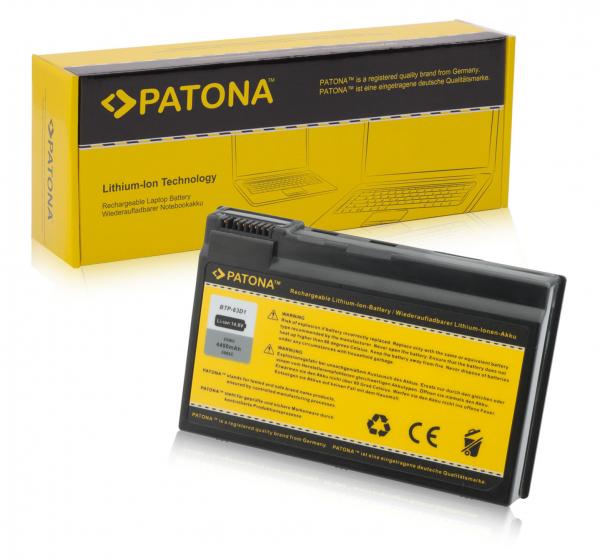 Acumulator Patona pentru Acer Aspire 3020 Aspire 3020LMi 3020WLMi 3021WLMi 0