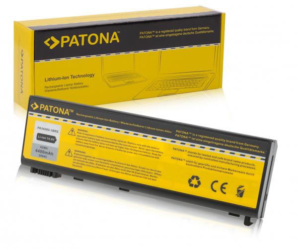 Acumulator Patona pentru TOSHIBA Satellite L100 negru Equium L20197 L20-197 0