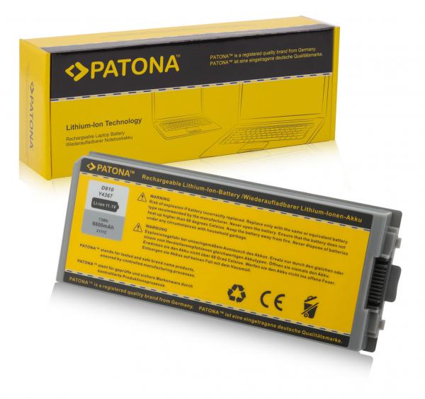 Acumulator Patona pentru Dell D810 Latitude D810 D810 Precision M70 0