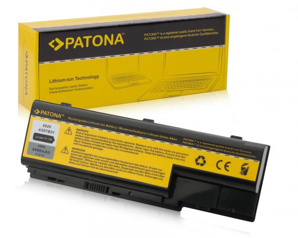 Acumulator Patona pentru Acer Aspire ASOB741 Aspire 5310 5720 5920 5920658 [0]