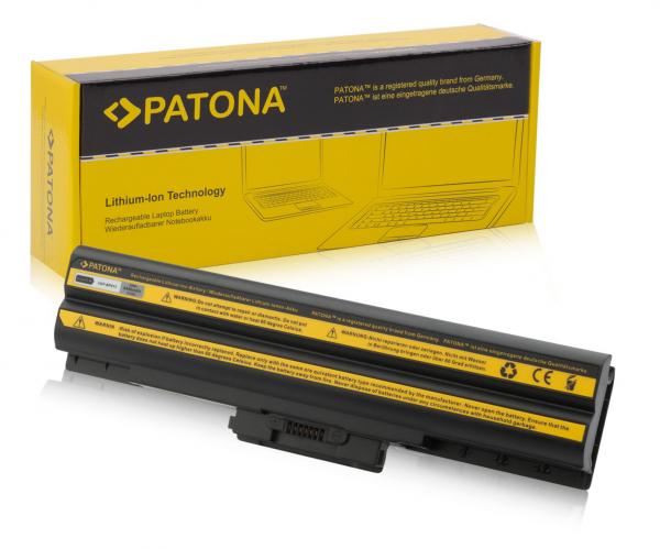 Acumulator Patona pentru Sony BPS13 fără CD negru VGN AW21M / H AW21MH 0