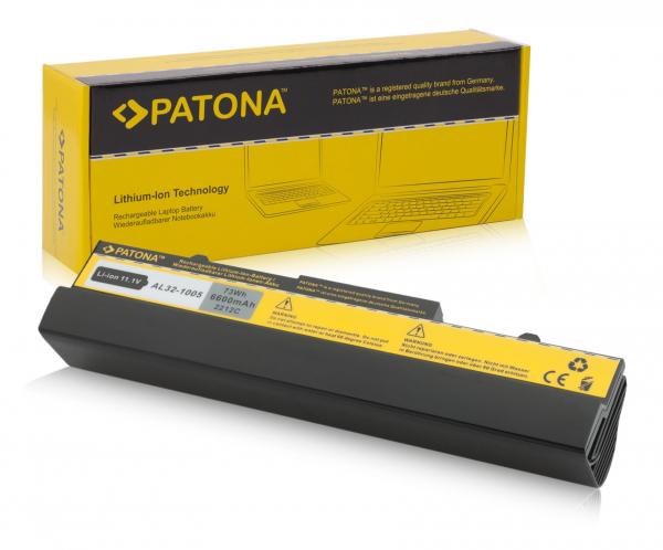 Acumulator Patona pentru Asus 1005 negru EEE PC 1005 1005H 1005HA 1005HAA [0]