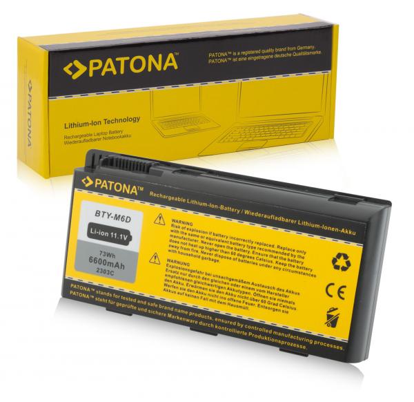 Acumulator Patona pentru Medion E6603 Erazer X6811 X6813 X6817 X6819 X6821 [0]