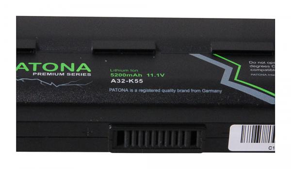 Acumulator Patona Premium pentru Asus K55 A45 A45D A45DE A45DR A45N A45V A45VD A45VG 2