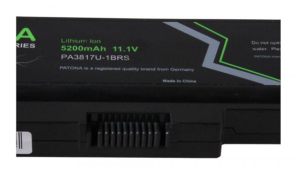 Acumulator Patona Premium pentru Toshiba PA3817 Satelit A600 A655 A660 A660D A665 2