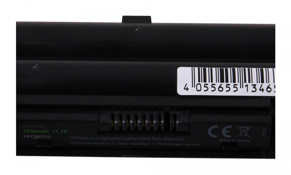 Acumulator Patona Premium pentru Fujitsu FPCBP250 Lifebook A530 A531 AH530 AH531 2