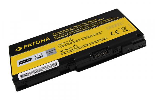 Acumulator Patona pentru Toshiba Qosmio X500 X505 P500 P505 Qosmio X500-03L X500-04N [1]