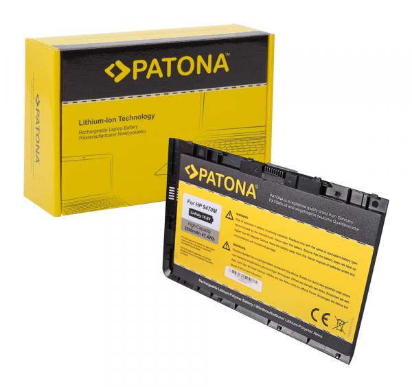 Acumulator Patona pentru HP EliteBook Folio 9470 Seria 9470m HSTNN-I10C 0