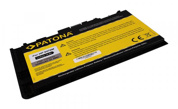Acumulator Patona pentru HP EliteBook Folio 9470 Seria 9470m HSTNN-I10C 1
